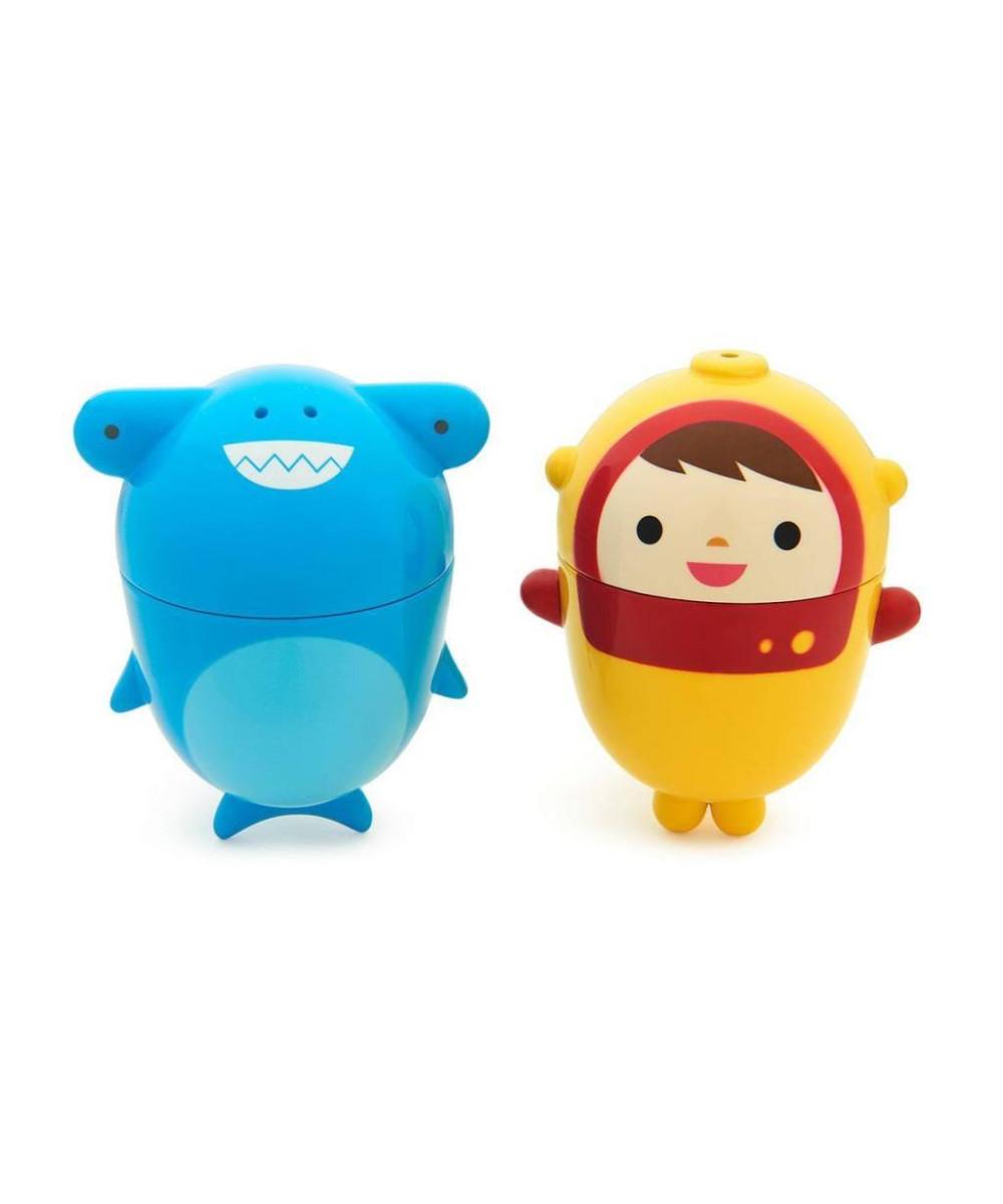 Іграшка для ванної Munchkin Аквалангіст і акула (011203.02) - Фото 1